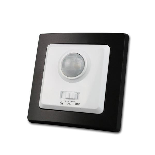 DELPHI Bewegungsmelder schwarz/weiß 250V/400W