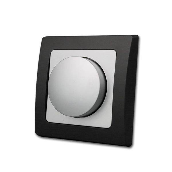 DELPHI Dimmer-Schalter schwarz/silber 250V/300W