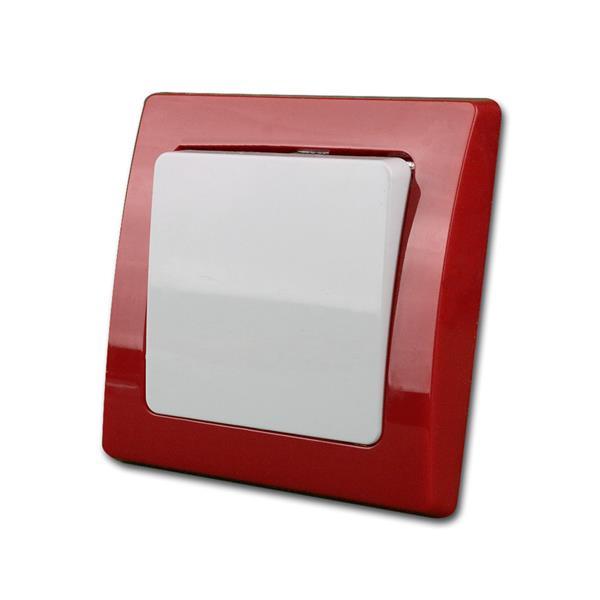DELPHI Wechsel-Schalter, rot/weiß, Schraubanschluß