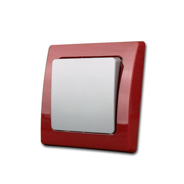 DELPHI Wechsel-Schalter, rot/silber, Klemmanschluß