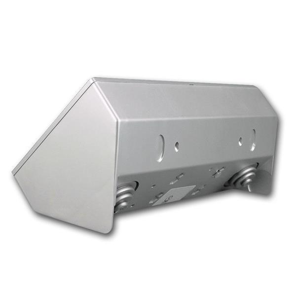 Tisch-Steckdosenblock mit 45° Winkel zum leichten Einstecken