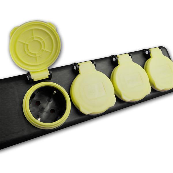 Steckdosenleiste mit Schutzklasse IP44 für den Außenbereich