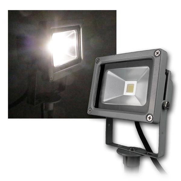 Erdspieß Fluter grau 10W daylight 850lm IP44 230V