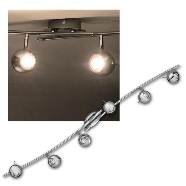Deckenlampe CP-6, 3W COB LED warmweiß 230lm, 230V