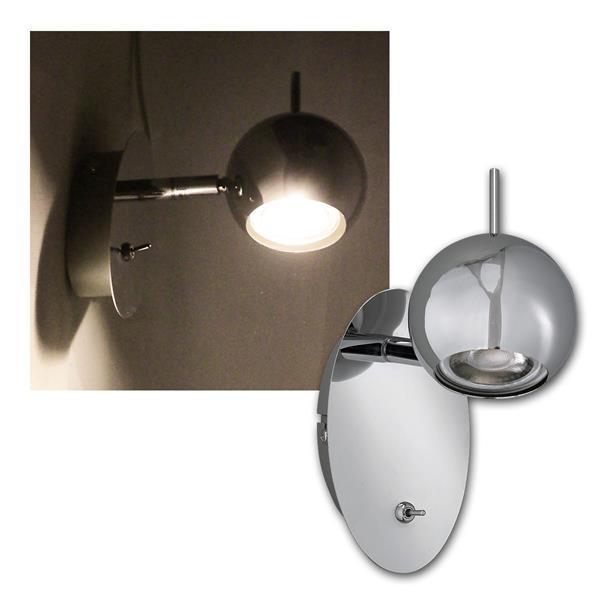 Spotleuchte CP-1, 5W COB LED warmweiß 400lm, 230V