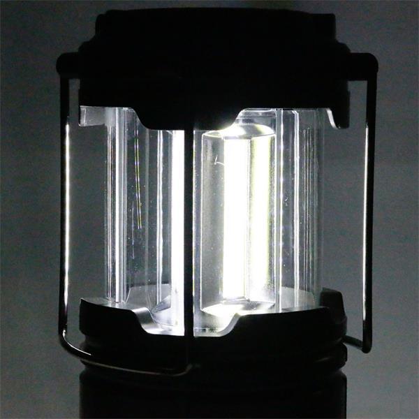 Campinglampe klein und handlich mit superhellen COB LEDs