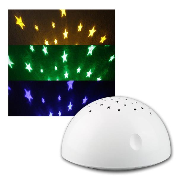 Batterie Nachtlicht, RGB LED, Touchfunktion, weiß