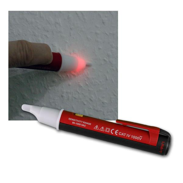 Spannungsprüfer in Stiftform 90-1000V, Signalton