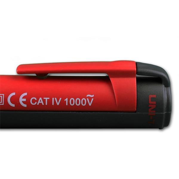 Prüfmittel elektrisch in Stiftform mit Befestigungsclip