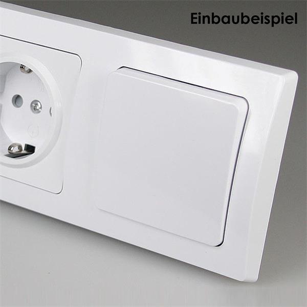 Lichtschalter- elegant, kratzfest, leicht zu installieren und erweiterbar