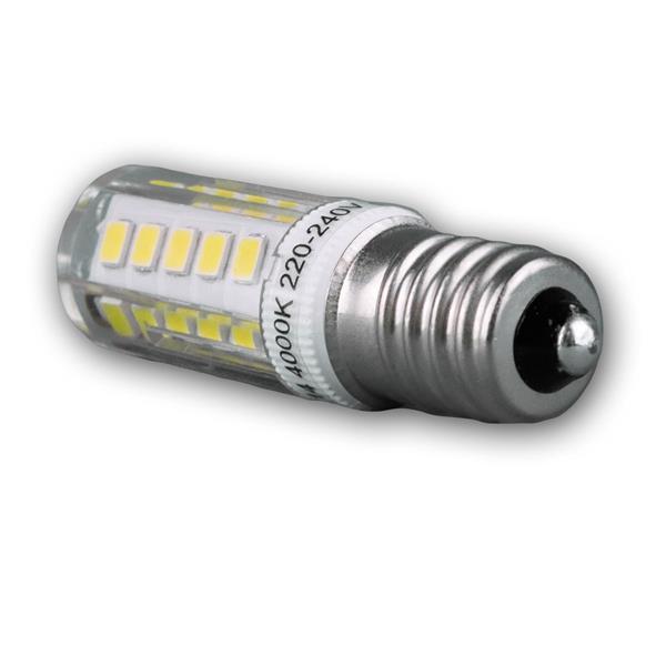 LED Lampe mit dem Sockel E14 für 230V und nur ca. 2,5W Verbrauch