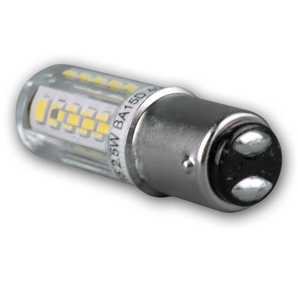 LED Lampe mit Bajonett-Fassung für 230V und nur ca. 2,5W Verbrauch