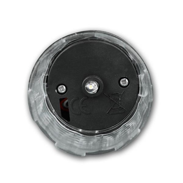 Außenstehleuchte Solar mit einer LED und der Lichtfarbe daylight
