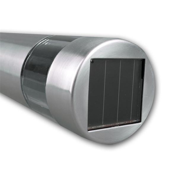 IP44 Solar-Stehleuchte mit Dämmerungssensor