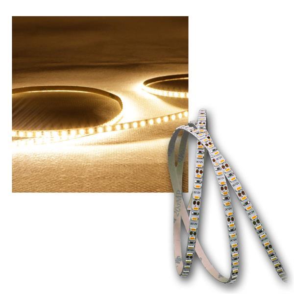 LED Lichtband 3m, 4mm Breite 198 SMD/m warmweiß 12V