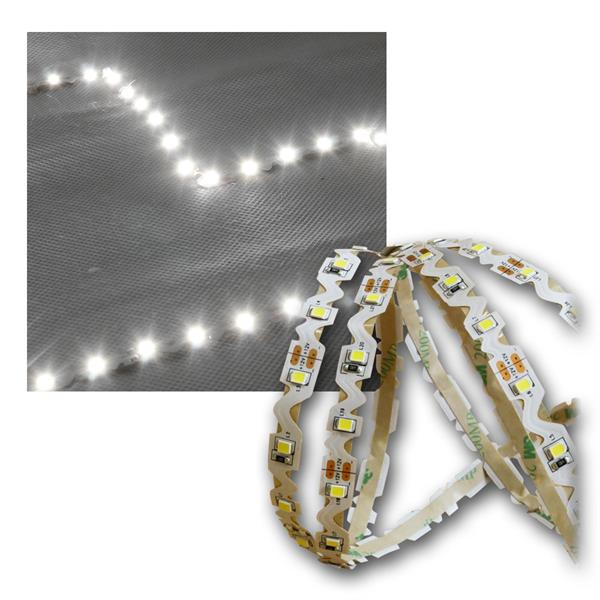 SMD Lichtband 5m, 60LED/m kaltweiß, Winkel/Radius