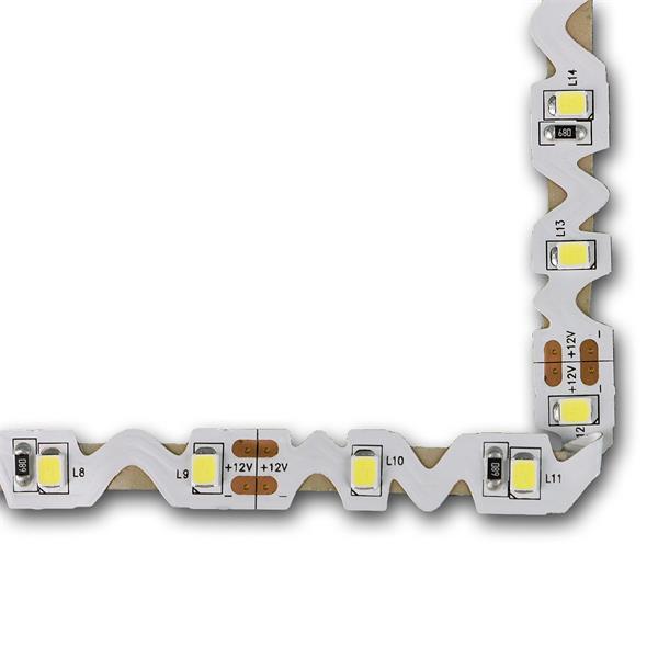 LED Flexstreifen 12V hochflexibel und knickbar für Winkel und Kurven