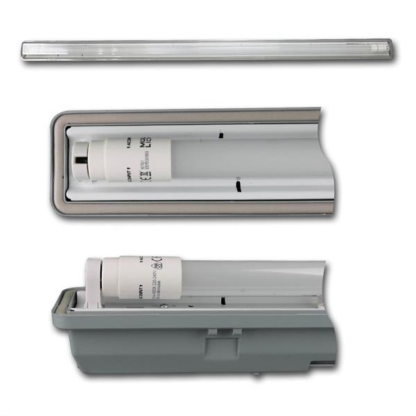 LED-Wannenleuchte mit 1800lm und der Leuchtfarbe daylight