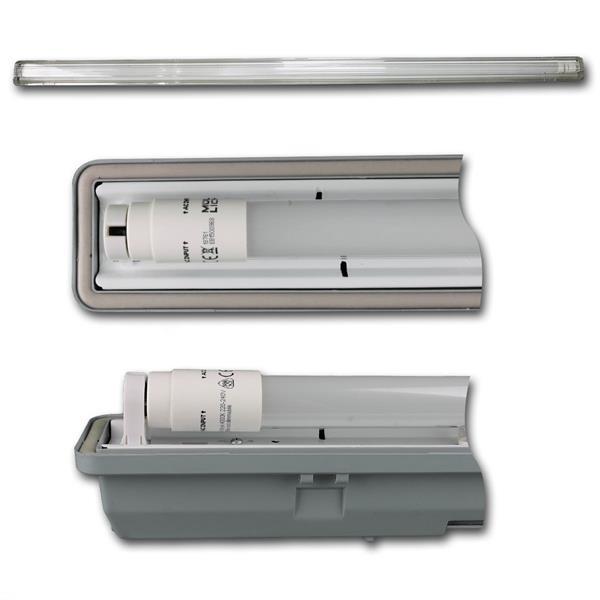 LED-Wannenleuchte mit 2100lm und der Leuchtfarbe daylight