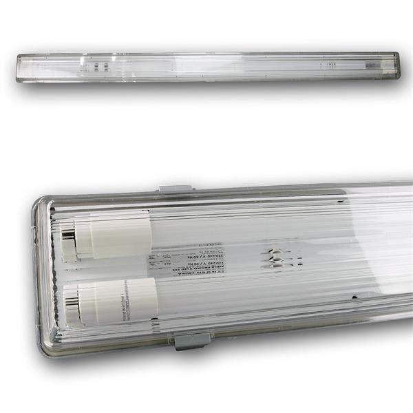 LED-Wannenleuchte mit 2x 2100lm und der Leuchtfarbe daylight