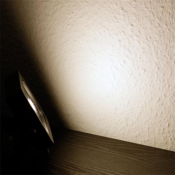 LED Außenstrahler Slim mit 780lm Lichtstrom und der Leuchtfarbe daylight