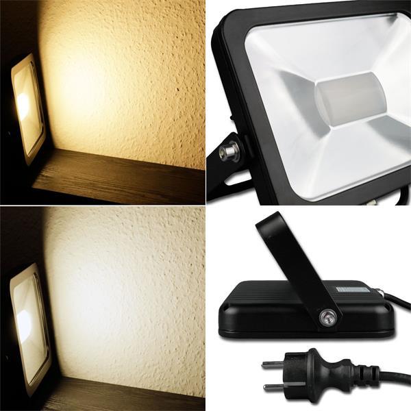 """LED Fluter """"CTF-SL"""" mit 10,30 oder 80W, IP44 und Alu-Gehäuse"""