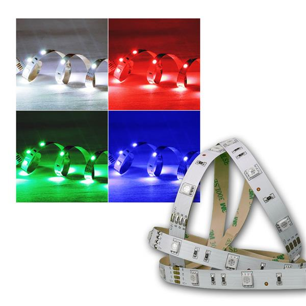5m SMD LED FLEX-Strip RGB indoor 150 LEDs  PCB-Br