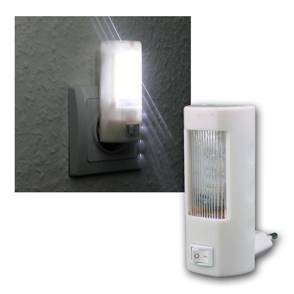 LED Nachtlicht mit 4 LEDs und An/Aus Schalter