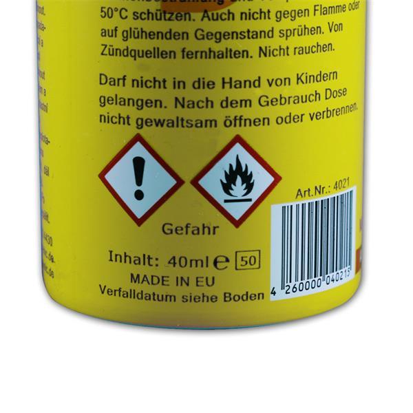 K.O.-Spray mit 40ml Inhalt waffenscheinfrei