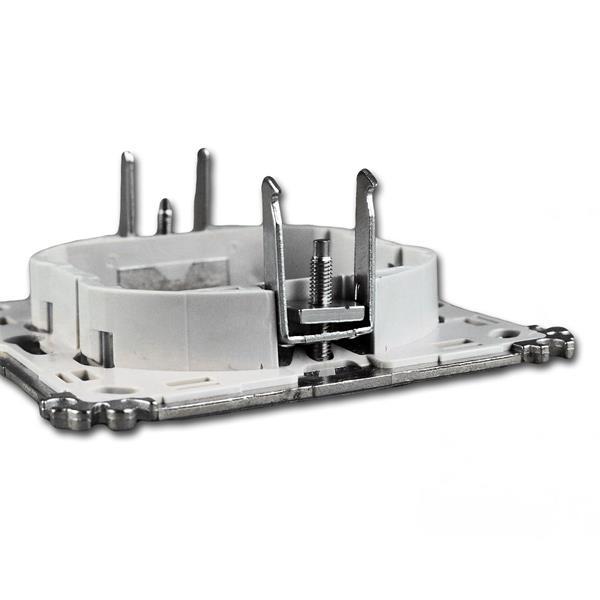 Modul-Plus Montageträger passend für gängige Schalter- und Hohlraumdosen