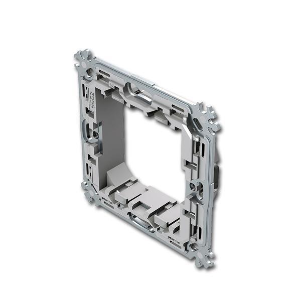 MODUL-PLUS Montageträger, 2M, ohne Krallen, Metall