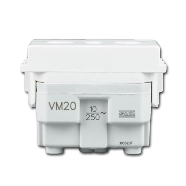 Modul-Plus Euro-Steckdose 1M für max. 250V~/10A