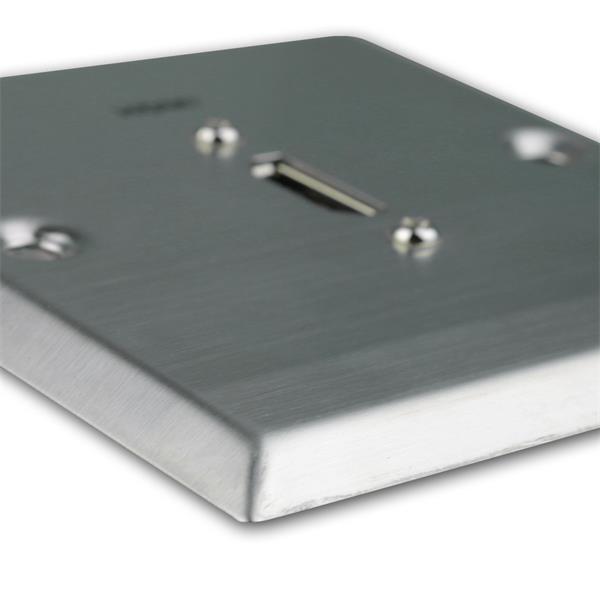 HDMI-Anschlussdose für Unterputzdose elegant und zeitlos