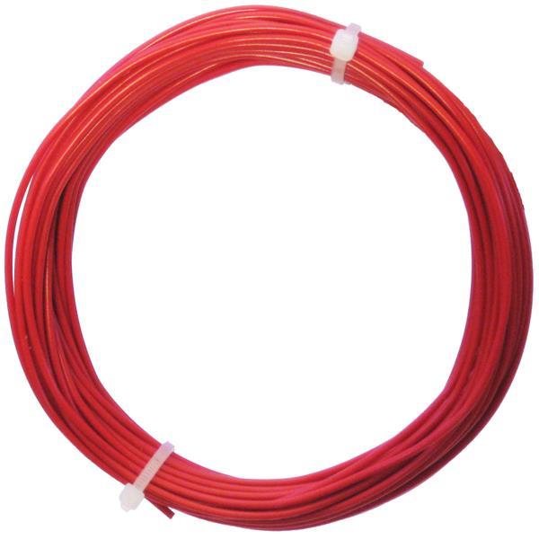 10m Litze flexibel rot 0,5mm² - Ø2mm
