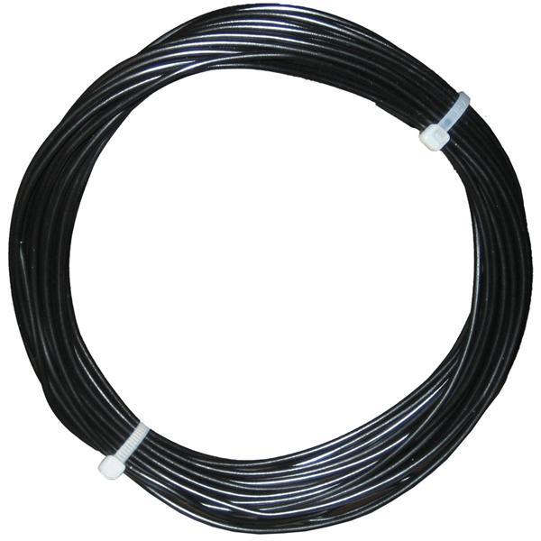 10m Litze flexibel schwarz 0,5mm² - Ø2mm
