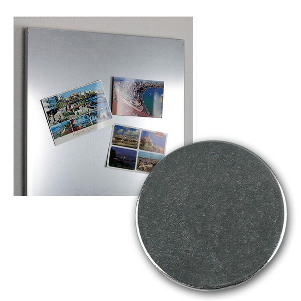 Neodymiummagnet-Set 5 Stück 19x1,5mm mit Klebeseit