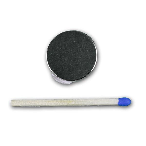 Neodym Super-Magnet mit starker Haftkraft und dem Maß: ca. 19x1,5mm