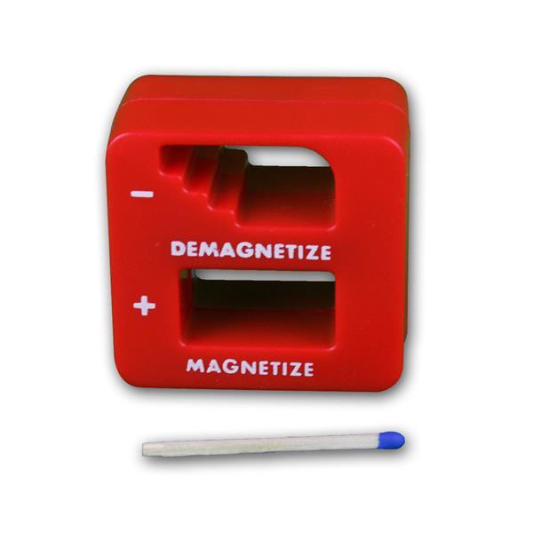 Ent-/Magnetisierer mit dem Maß  ca. 50x50x30mm (LxBxT)