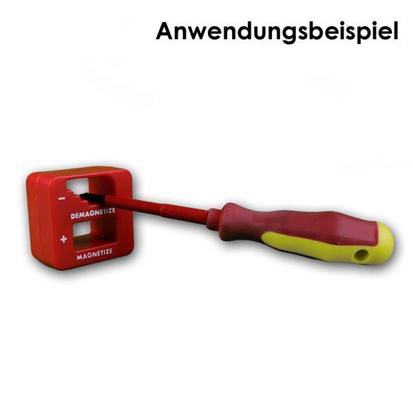 Magnetize - 2in1 Helfer für jeden Hobby-Handwerker hier im Anwendungsbeispiel