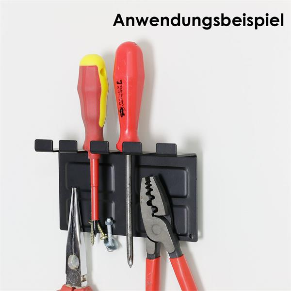 Magnethalter Werkzeug aus Stahlblech als nützlicher Helfer