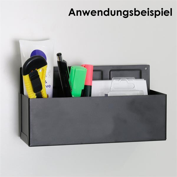 Magnetischer Organizer für die Werkstatt, die Küche und das Büro