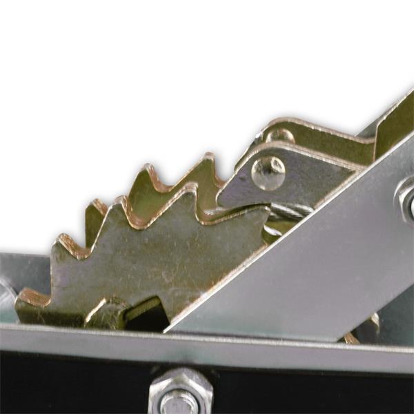 Handhebelseilzug mit 2 Haken schwere Stahlkonstruktion mit 4,6mm Stahlseil