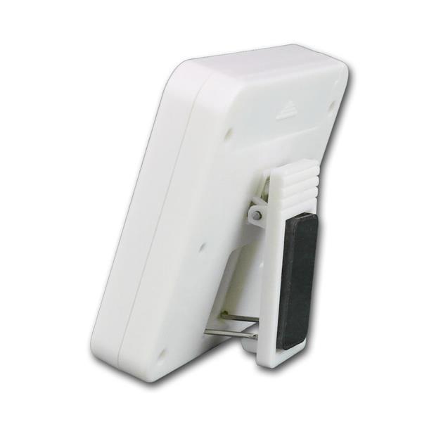 Kurzzeitmesser digital mit LCD-Anzeige und 1x AAA-Batterie (im Lieferumfang)