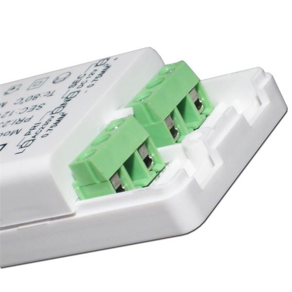 Anschluss für 12V und Netzanschluss
