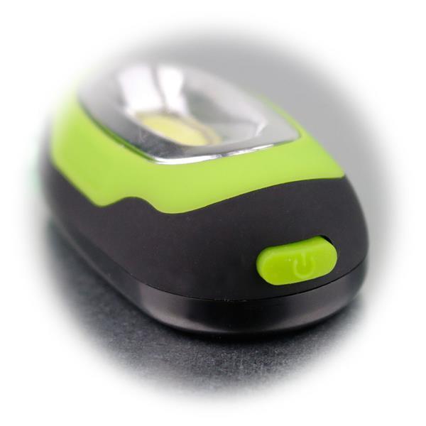 Mini LED-Schlüsselleuchte mit  geringen Abmaßen