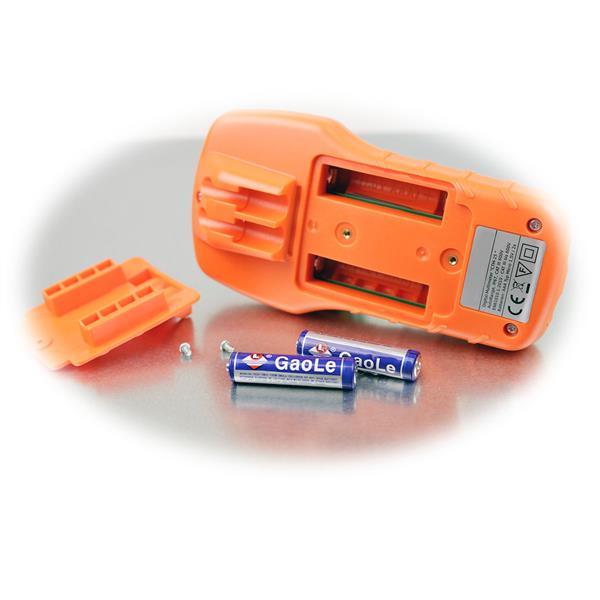 Batteriebetrieben mit zwei AAA Micro-Batterien