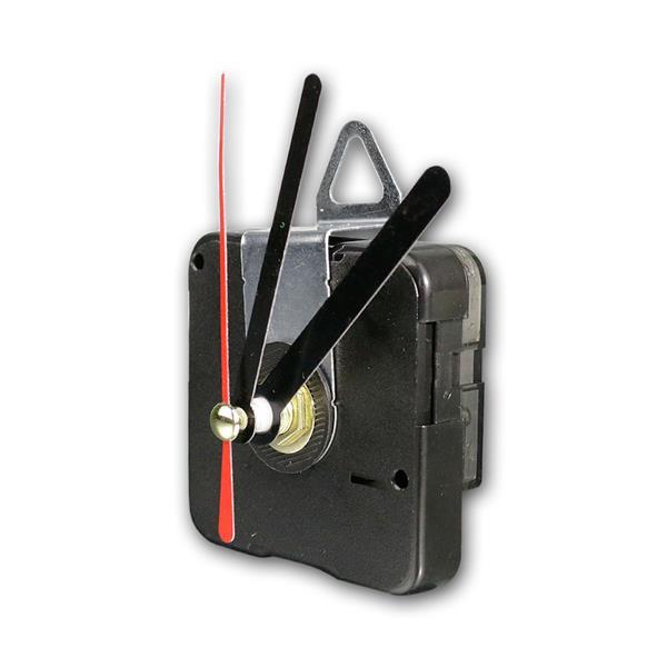 Quarz-Uhrwerk mit 3 Zeigersätzen aus Metall