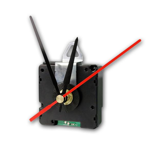 Funk-Uhrwerk DCF mit 3 Zeigersätzen aus Kunststoff