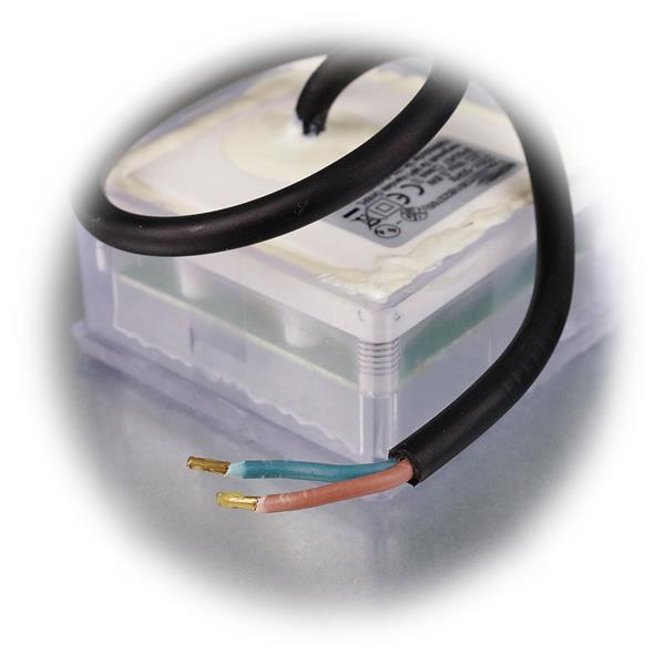 LED Pflaster-Uplight IP67 für 230V mit nur 0,8W Verbrauch