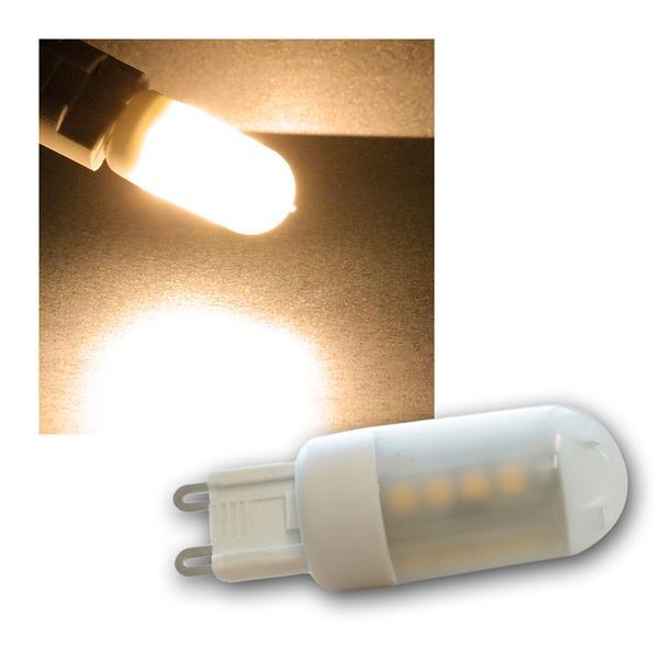 LED Stiftsockel G9 warmweiß 230V/3W, 270lm DIMMBAR